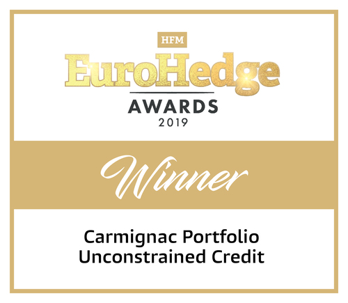 "Carmignac P. Unconstrained Credit - Winner in the ""Macro, Fixed Income and Relative Value"" category"